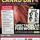 Canad Day Picnic in the Park
