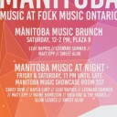 Manitoba Music at Folk Music Ontario