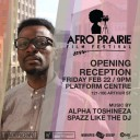 Afro Prairie Film Festival Opening Reception