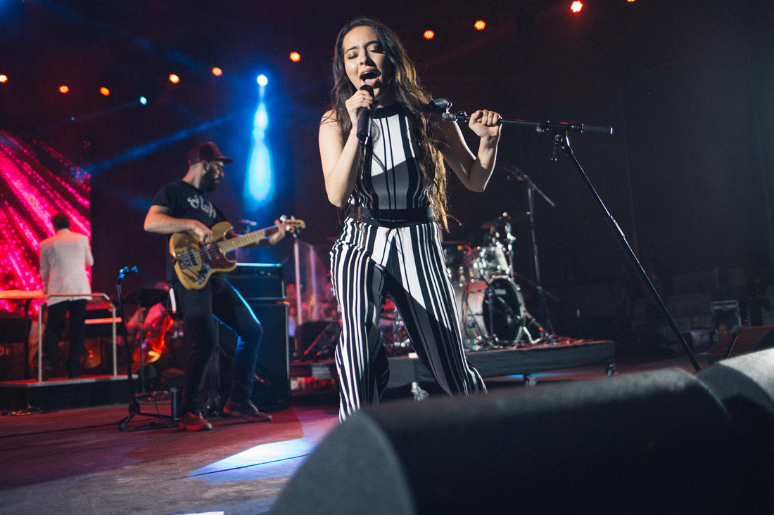 Faouzia performs at Canada 150 at The Forks (Photo: Jen Doerksen)