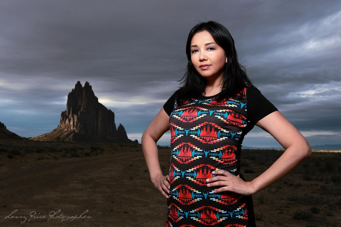 Lisa Muswagon performs at the Indigenous Music Showcase on Feb 15